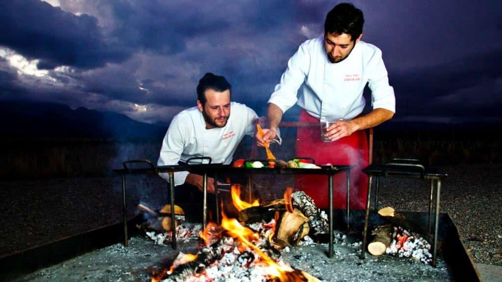 Mendoza: Traditionell argentinsk BBQ