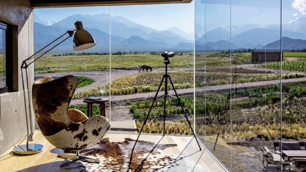 Mendoza: Nyd god mad og vin i det eventyrlige landskab i det argentinske højland.
