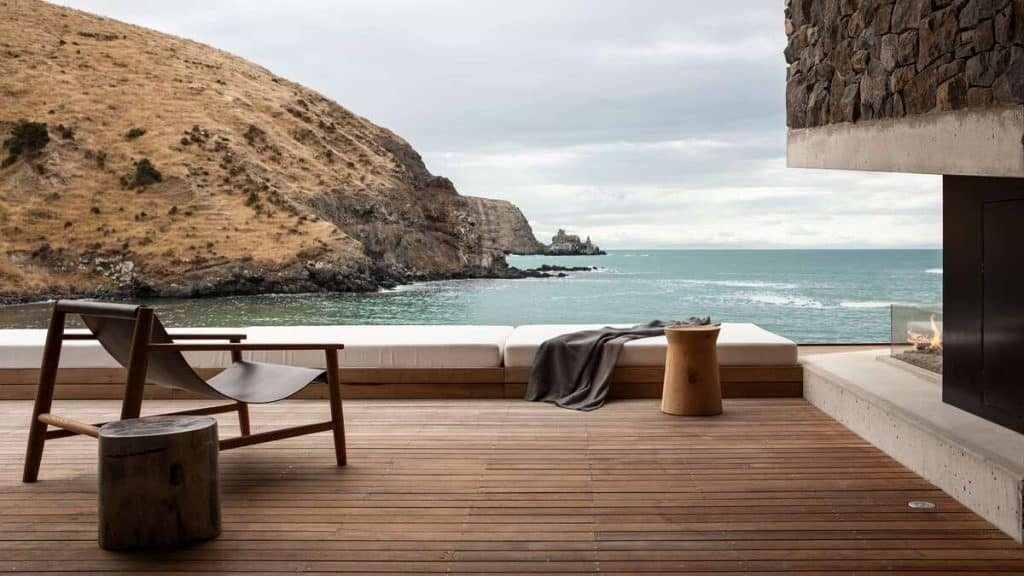 Nyd naturen omkring Annandale Luxury Lodge i Pigeon Bay på New Zealand.