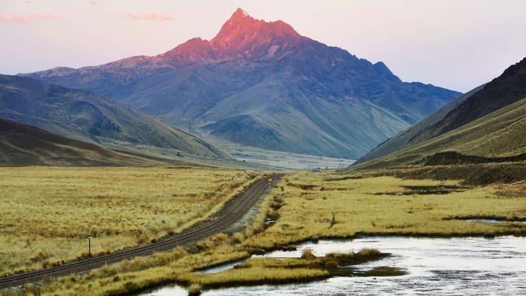 Andesbjergene.