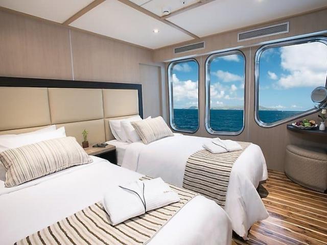 Luksuriøs indkvartering på skibet MV Origin.