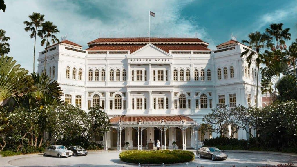 Raffles Hotel Singapore.