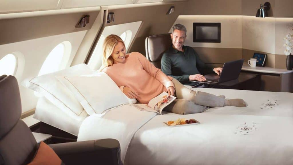 First Class Suite ombord på Singapore Airlines A380