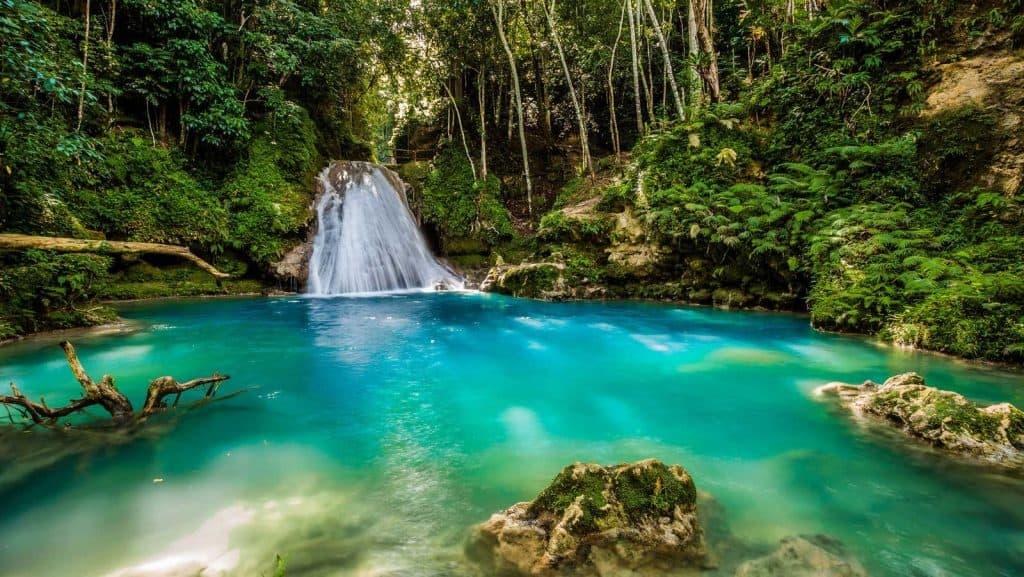 Blue Hole på Jamaica.