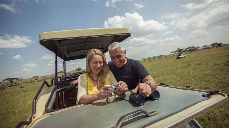 Safari i Tanzania.